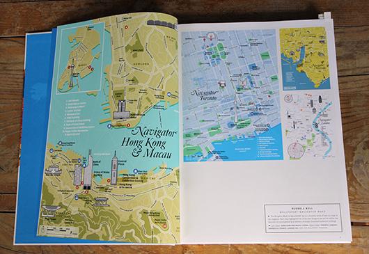 Abb. 2: Stadtpläne des Wallpaper Magazine © Gestalten Verlag