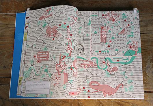"Abb. 3: London Stadtplan von Herb Lester (<a title=""Der illustrierte Stadtplan"" href=""http://bk.dgfk.net/2013/02/01/der-illustrierte-stadtplan/"">mehr hier</a>) © Gestalten Verlag"
