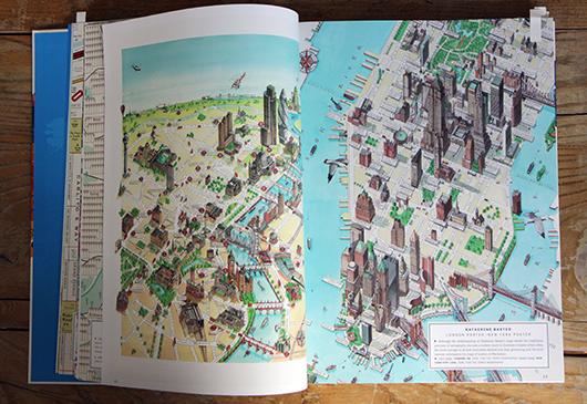 Abb. 4: New York Stadtplan in der Times © Gestalten Verlag