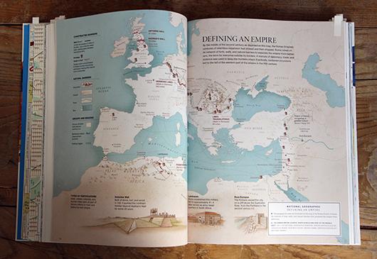 Abb. 7: Thematische Karte von der National Geographic © Gestalten Verlag