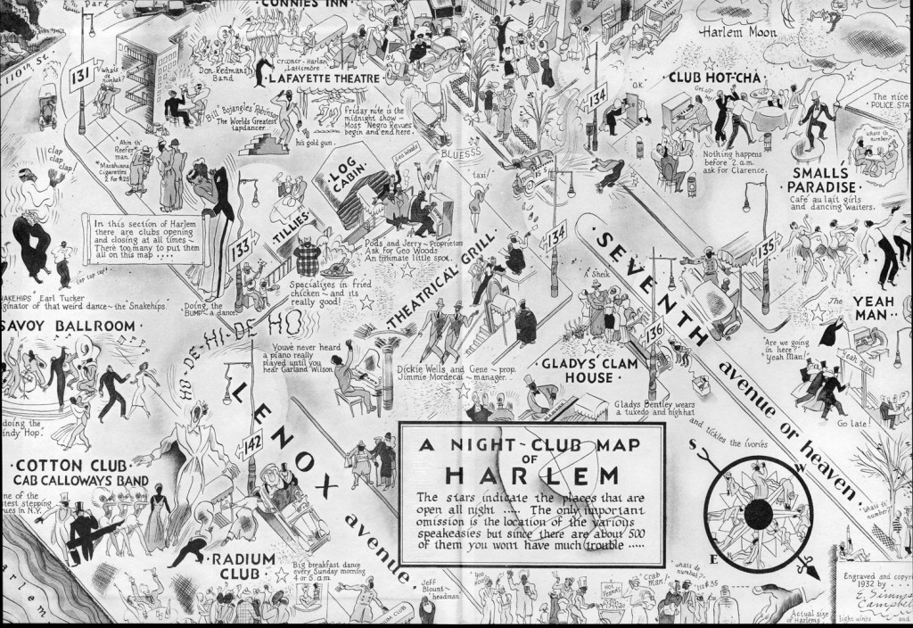 A Night-Club Map of Harlem