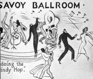 "Abb. 3: Savoy Ballroom, Ausschnitt aus der ""Night-Club Map of Harlem"""