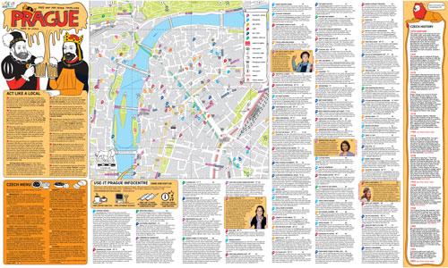 Abb. 1: Karte von USE-IT Prag. © USE-IT Prag