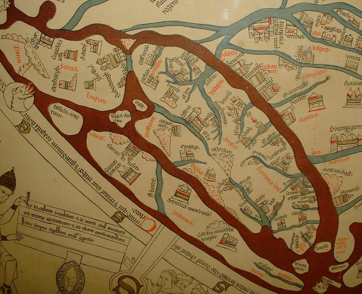Hereford_Mappa_Mundi_detail_Britain_public domain