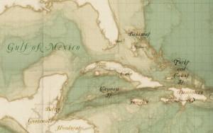 Sketchy Pirate Map, Bild von Mapbox