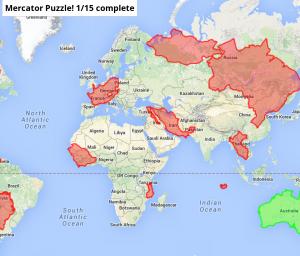 Mercator Puzzle
