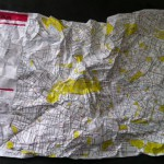 Crumpled City Map