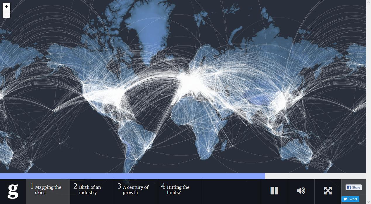 Flugrouten Karte.Flugrouten Die Bemerkenswerte Karte