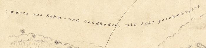 Beschreibung der Topografie